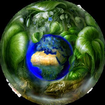 Commission: Jade Earth by Vladinakova
