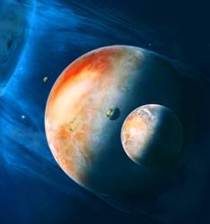 Strange planet... by Valinakova