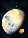 Kepler's Discovery: Super Earth