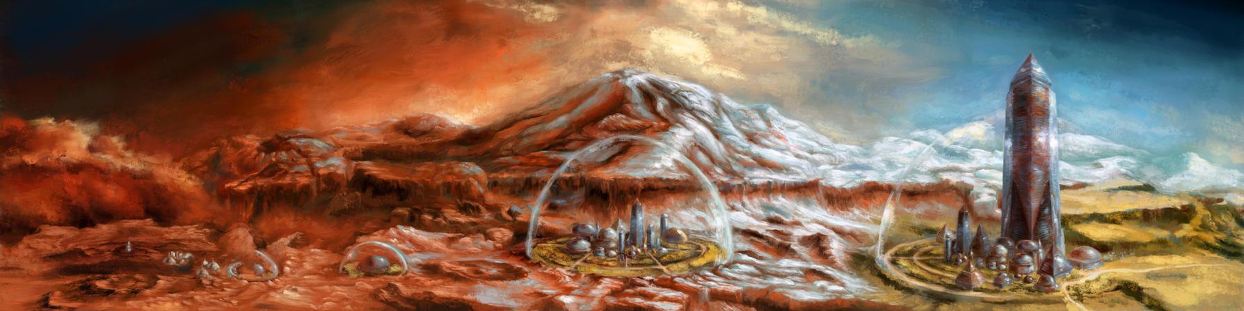 Terraforming of Mars by ValentiniaK