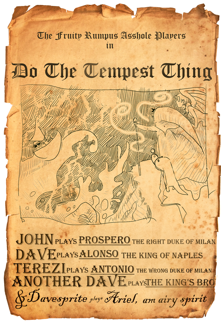 John: Do The Tempest Thing by yorkie-pudd
