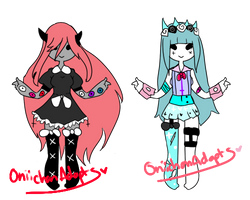 Pastel Goth Adoptables #19 ( ONLY #1 OPEN) by OniichanAdopts