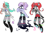 Adoptables Batch #39 (ONLY #1 and 3 OPEN)