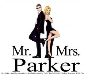 Mr and Mrs Parker by Earth27FanGirl