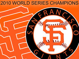 SF GIANTS 2010 WORLD CHAMPS by v-collins