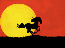 Equestrian Sun by v-collins
