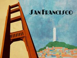 San Francisco Vector 2 by v-collins