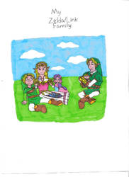 Zelda and Link's family