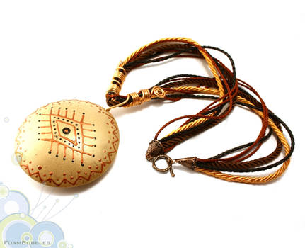 Eye of providence- Tribal inspired necklace