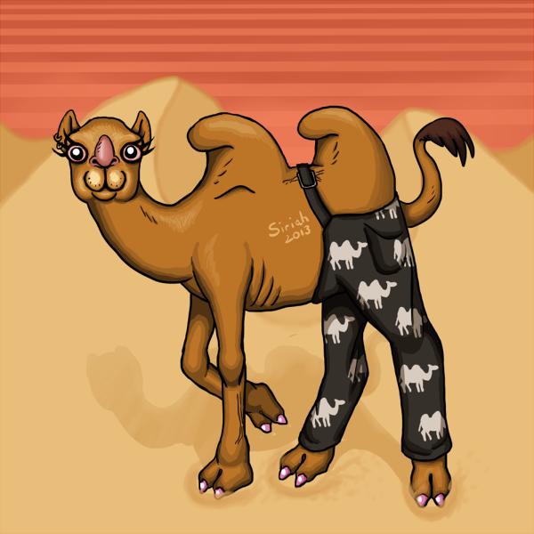 Camel pants by Siriah