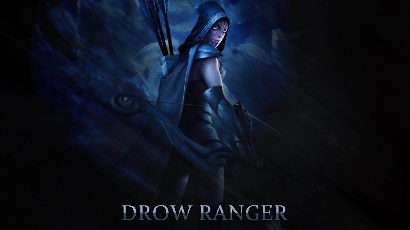 Drow Ranger - DotA 2 by YongGFX on DeviantArt