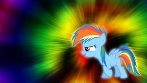 Filly Rainbow Dash Wallpaper