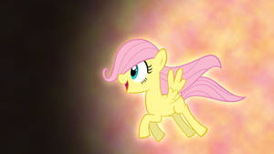 Filly Fluttershy Wallpaper by Pappkarton