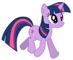 Twilight Sparkle strolling along