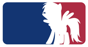 Major League Ponies - Rainbow Dash
