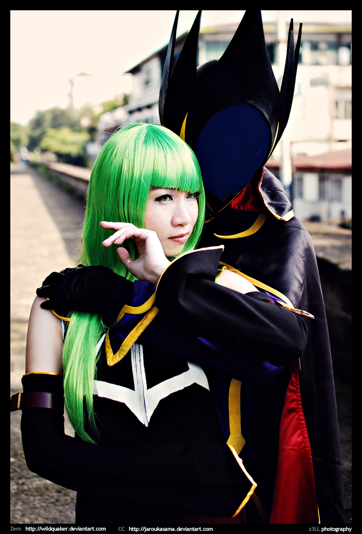 Code Geass: Zero And CC by wildquaker