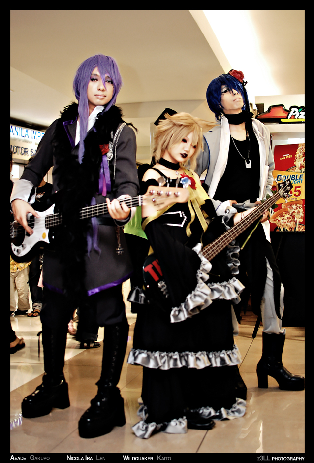 Vocaloid:Imitation Black Kaito by wildquaker