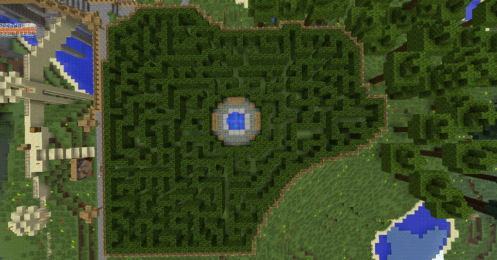 how to build a labyrinth in minecraft