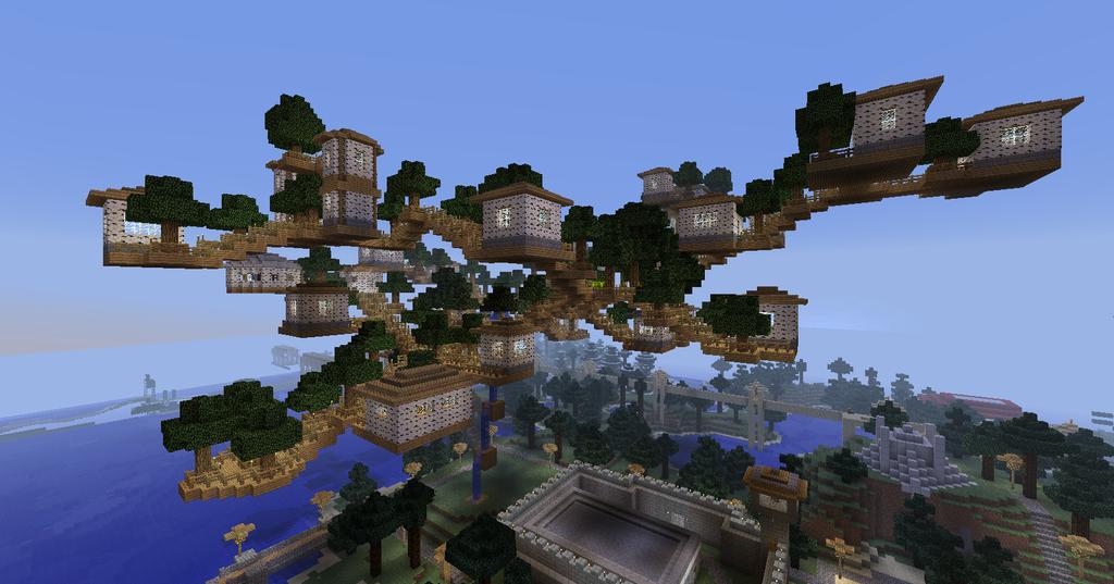 Minecraft server town : pitaniesug ga