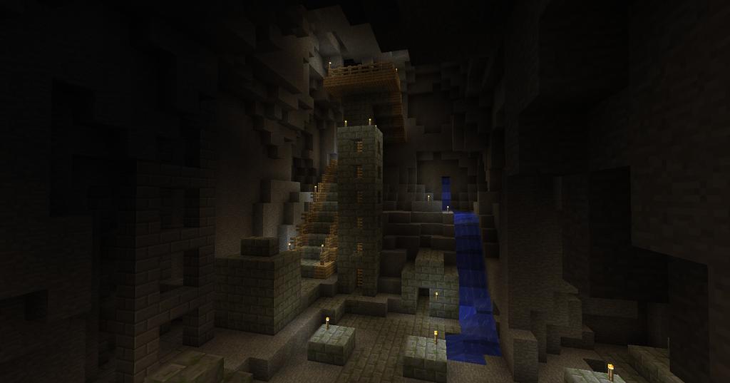 minecraft city entrance