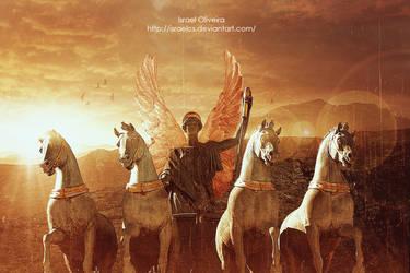 Warrior Angel II by israelcs