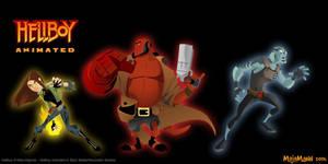 Hellboy crew