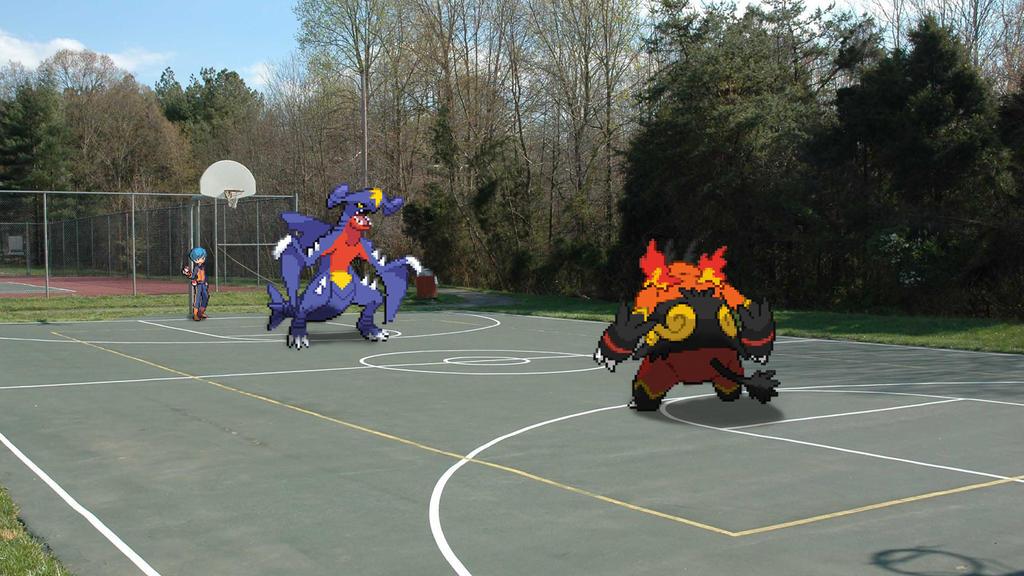 'Realistic' Pokemon Battle by SpiderCVIII