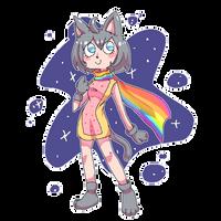 Nyan Cat Girl by MewMartina