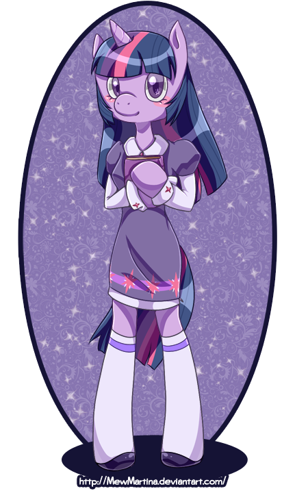 Twilight Sparkle Anthro by MewMartina on DeviantArt