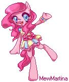 Pixel Pinkie Pie by MewMartina
