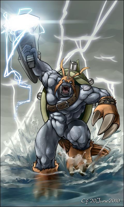 CyA023 - Hammer Spark by TheCGCy
