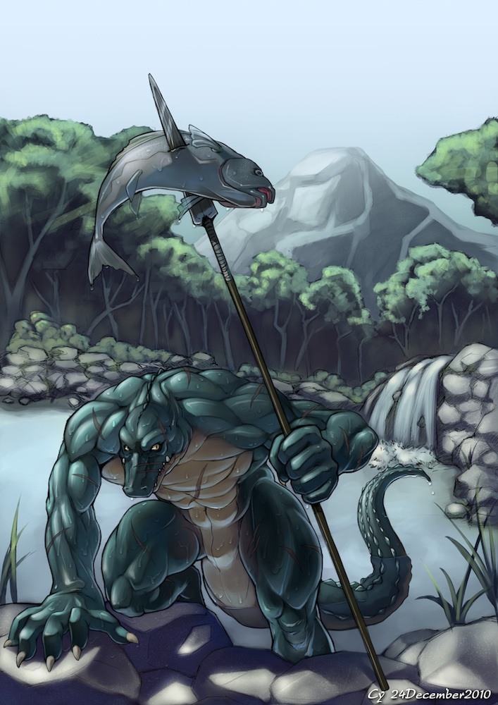 CyA026 - Crocodile Hunter by TheCGCy