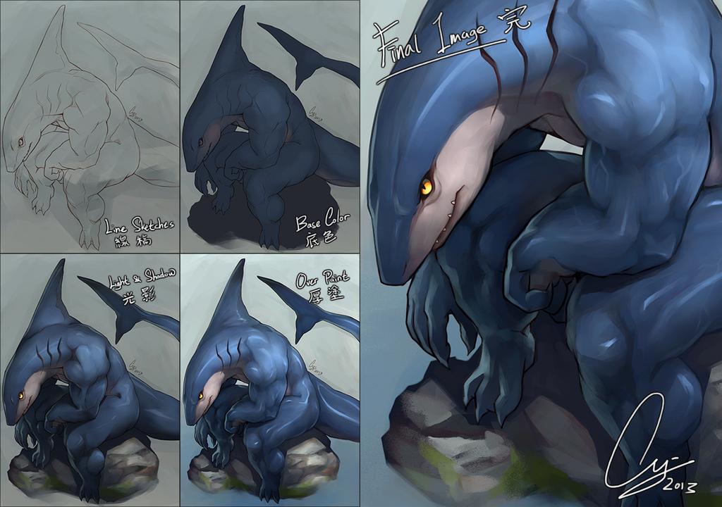 Hunter - Progress by TheCGCy