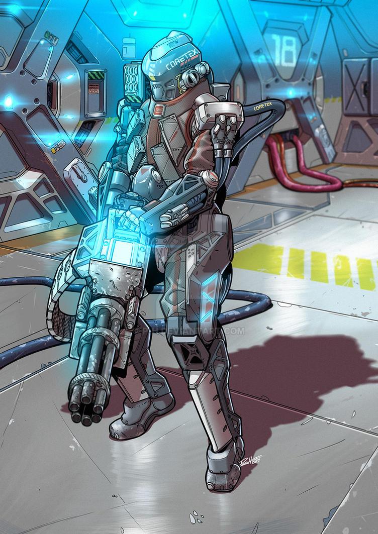 Coretex Exo Suit. by P-H