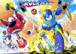 Megaman -Bombman Stage