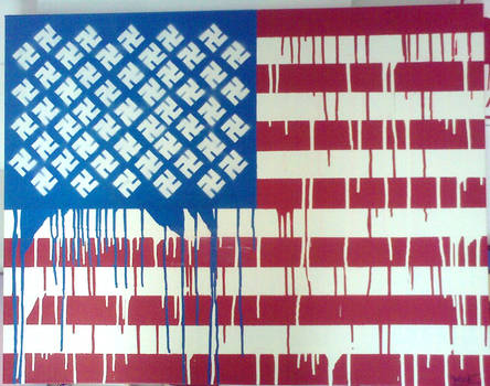 swastikas and stripes