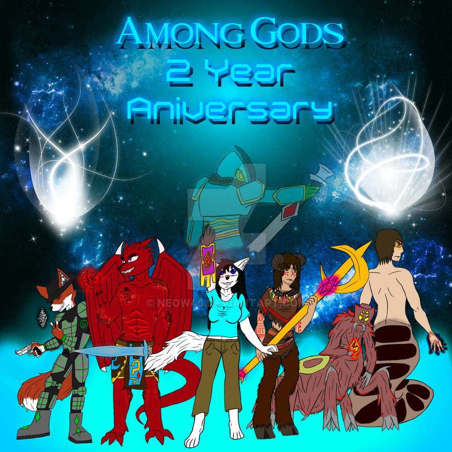 Among gods Anniversary 2 by Neow46