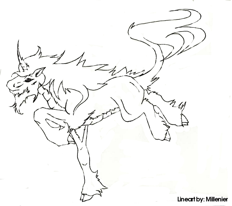 Image Result For Unicorn Coloring Page