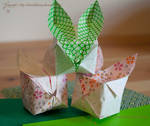 Week 48 - Puffy bunny by Bumblebee04