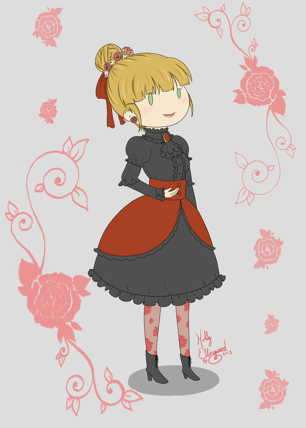 Elegant Classic Lolita by Horu-chan