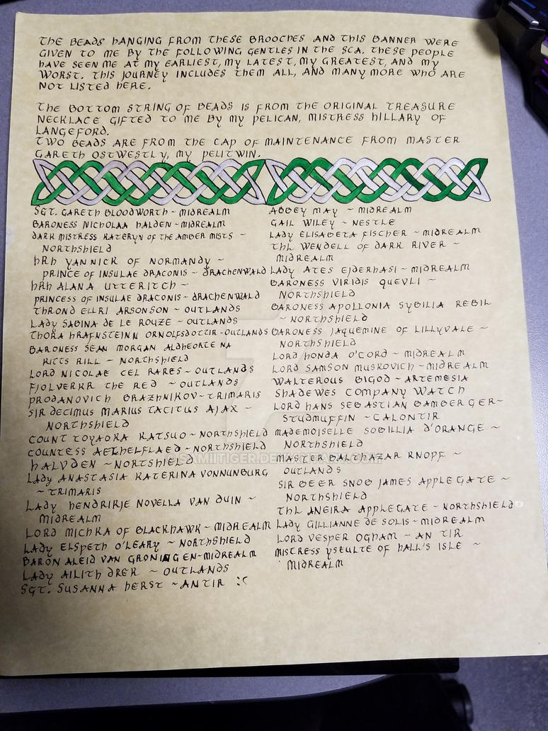 Epona Bead Scroll by samiitiger