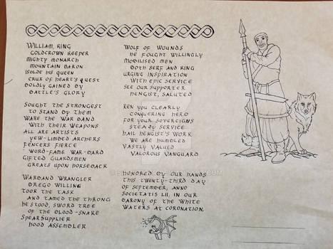 Hengist Vanguard Scroll