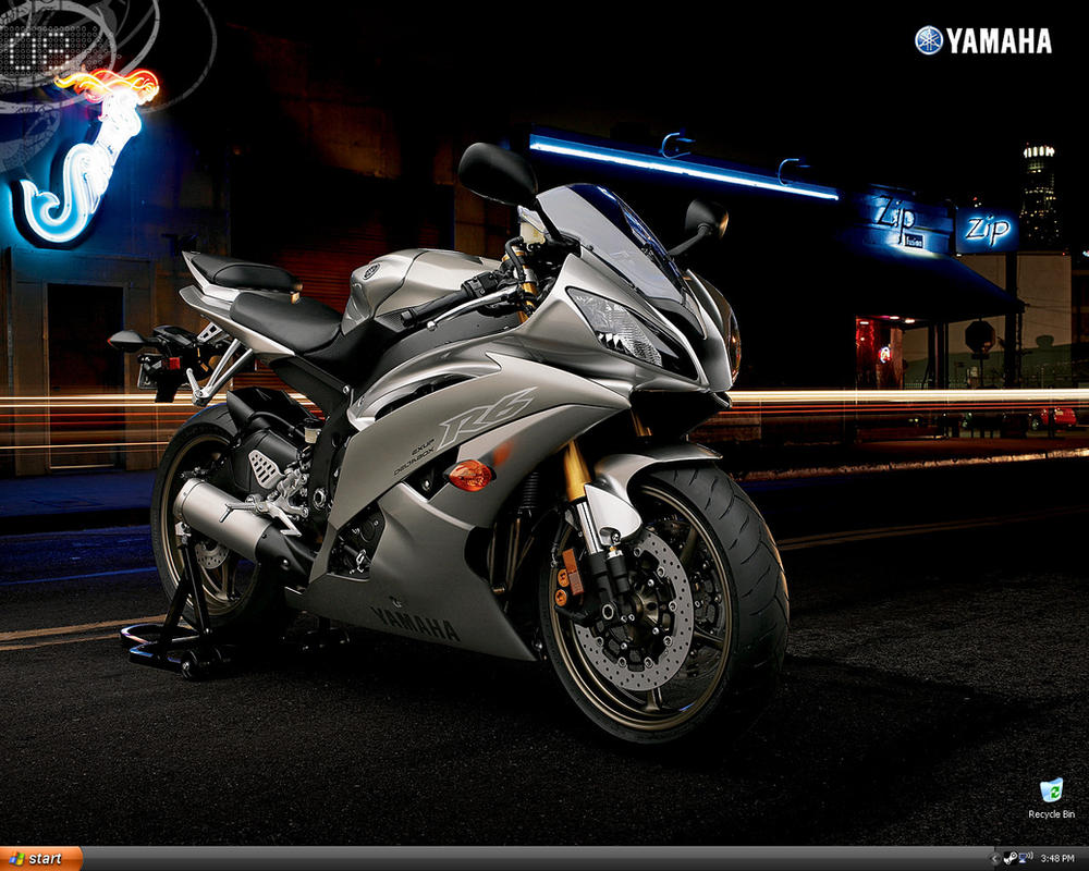 Yamaha R6 Wallpaper By Glennxcore