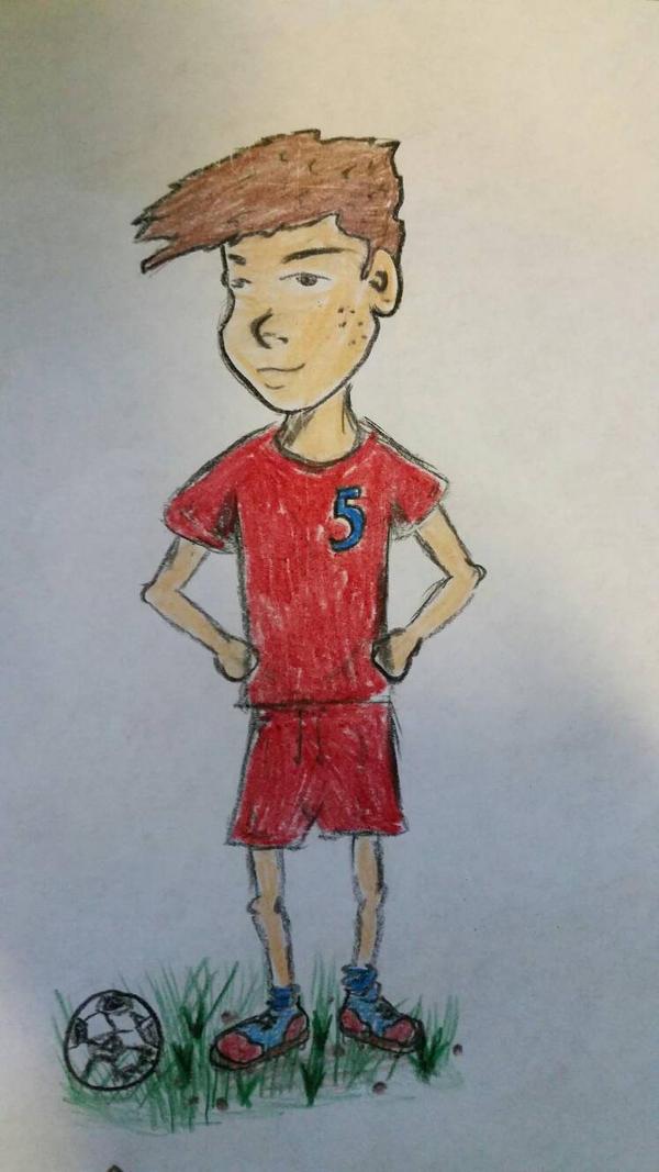 Soccerboy Ronny  by Helldoggolem