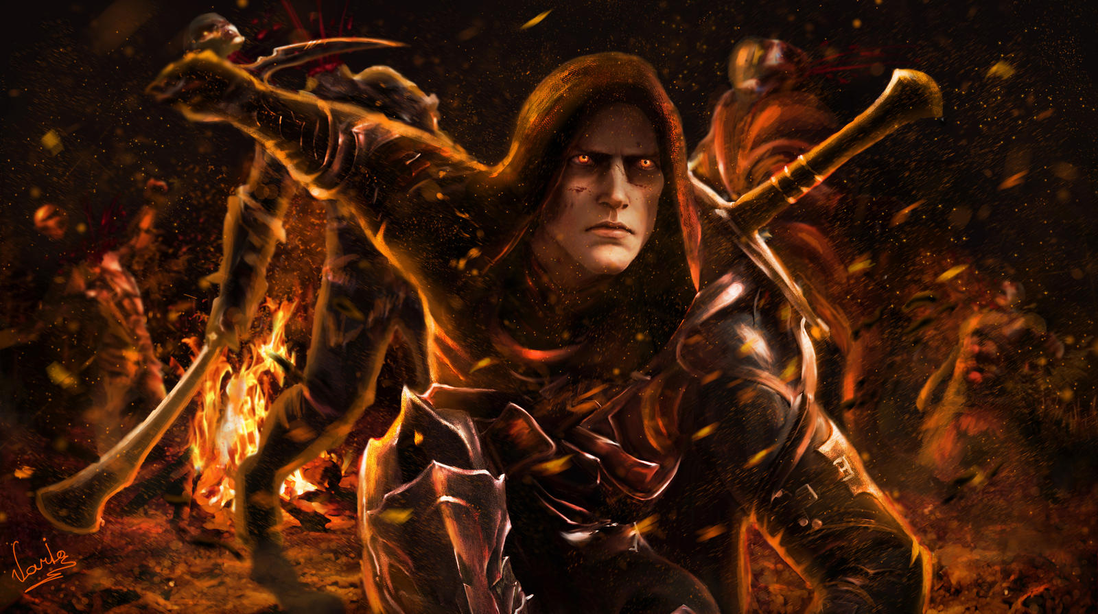 Black Hand Of Sauron Shadow Mordor By Variones On