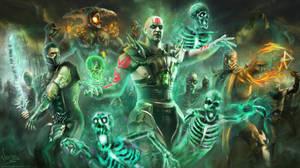 Undead army: Mortal kombat X