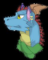 Rokenshi the Dragon Art Trade by SwimProductionsArt