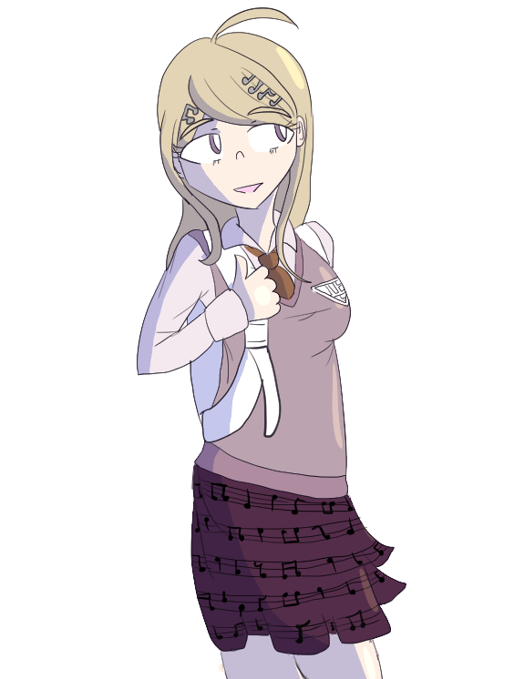 SHSL Most Adorable Main Character by Esppi