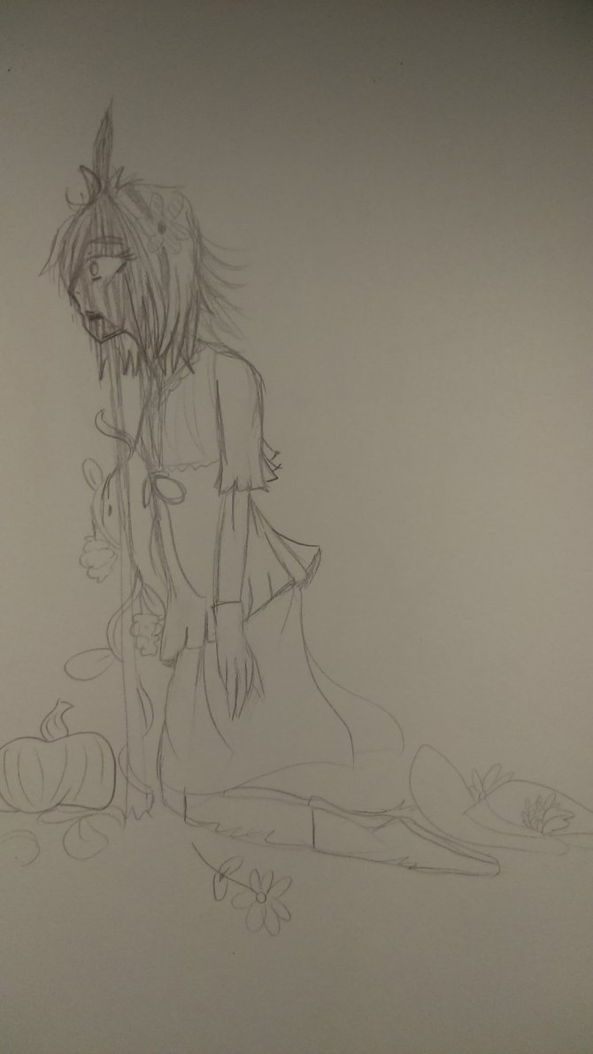 WitchtoberxGoretober- Day 4 by Esppi