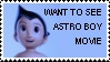 Astro Boy movie stamp by Dragonrider1227